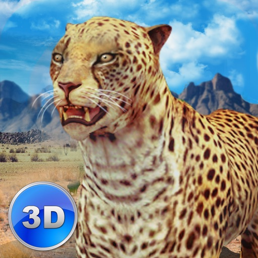 African Cheetah: Wild Animal Simulator 3D icon