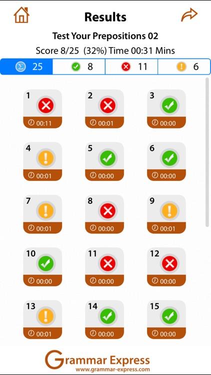 Test Your Prepositions screenshot-3