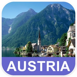 Austria Offline Map - PLACE STARS