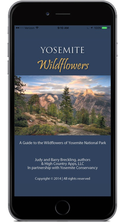 Yosemite Wildflowers screenshot-0