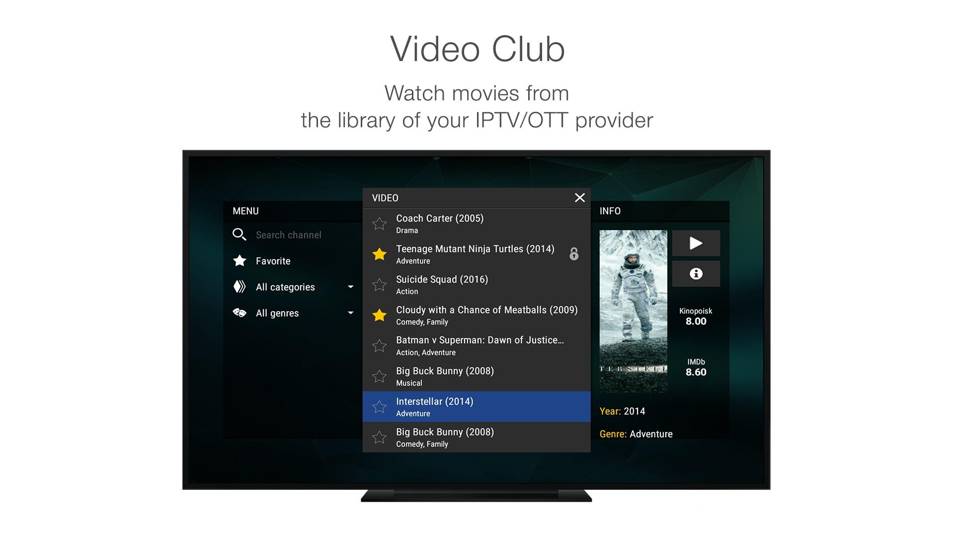 StalkerTV for Apple TV screenshot 3