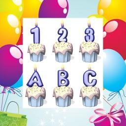 Animated Birthday Cupcakes