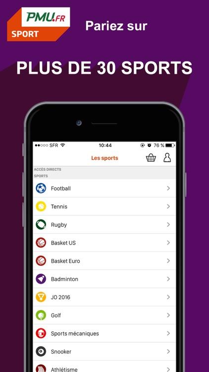 PMU Sport - Paris sportifs screenshot-3