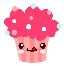 Cute CupcakeMoji