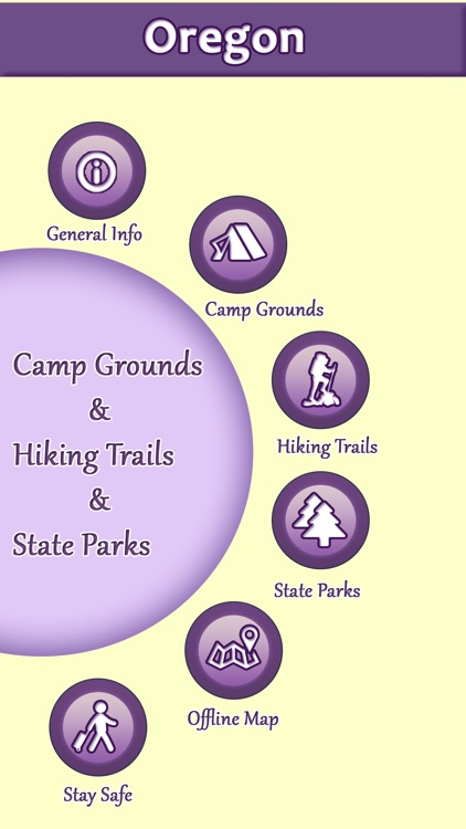 Oregon Campgrounds & Hiking Trails,State Parks screenshot-0