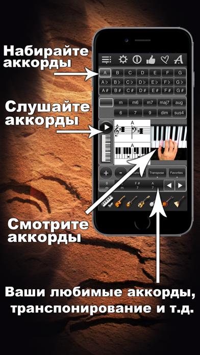 Маэстро Аккордов базовая апп скриншот программы 1