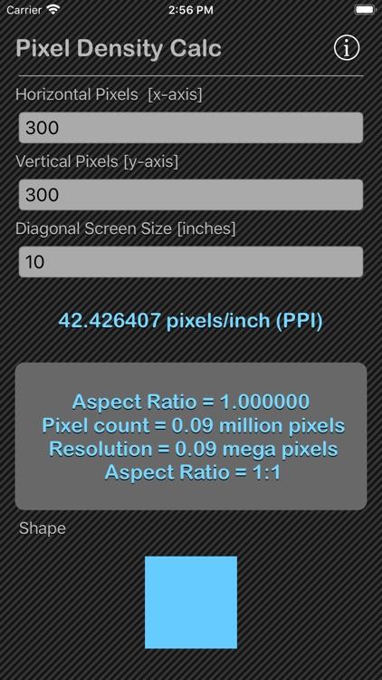 Pixel Density Calc screenshot-5