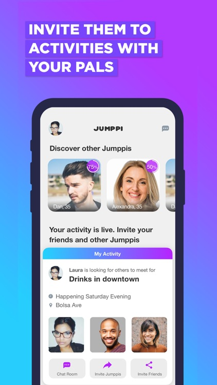 Jumppi:Join Fun Group Hangouts