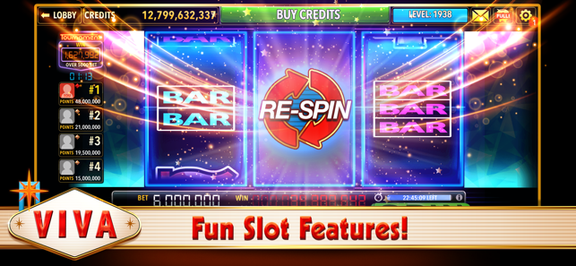 Viva Slots Vegas Slot Machines On The App Store