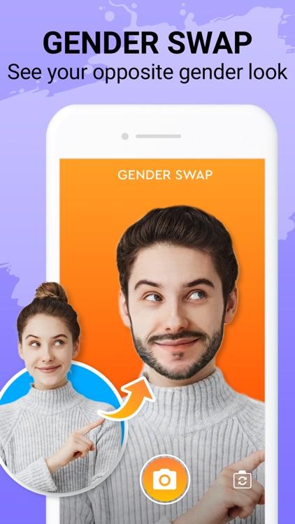 Face Story: Age & Gender Swap screenshot-0