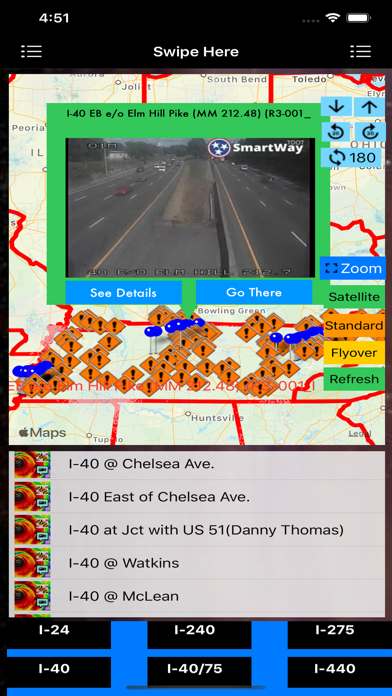 Traffic Cameras Tennessee Pro screenshot 2