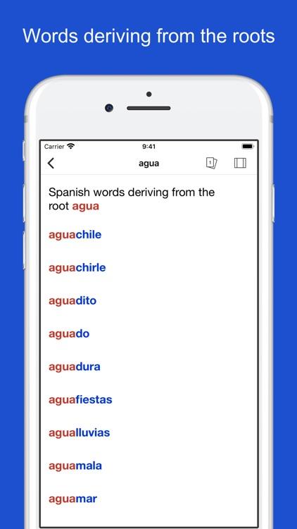 Spanish Word Parts screenshot-8
