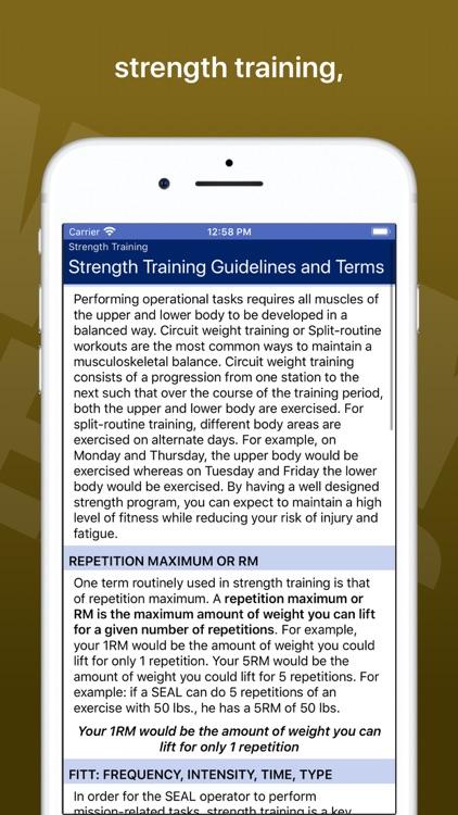 Navy SEAL Fitness screenshot-4