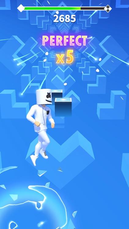 Marshmello Music Dance screenshot-0