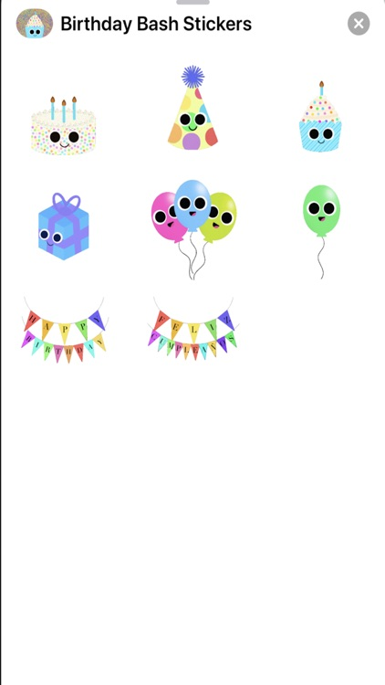 Birthday Bash Stickers
