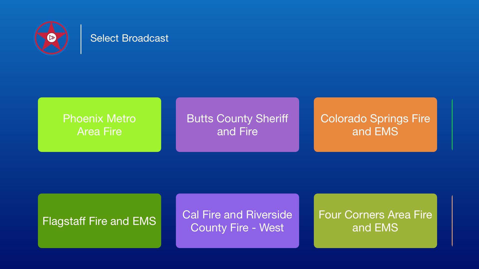 Radio Scanner police screenshot 3