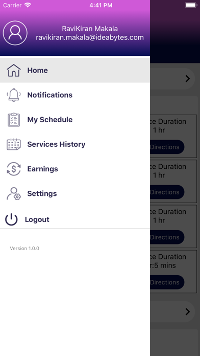 Bilage Provider screenshot 1