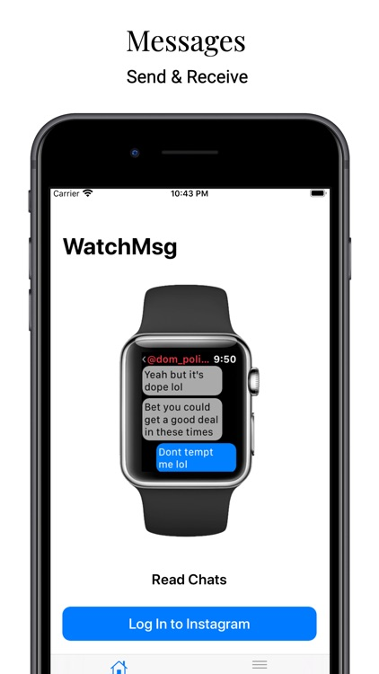 WatchMsg for Instagram screenshot-3
