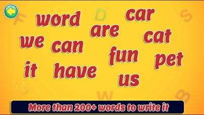 Spelling Writing Game screenshot 4
