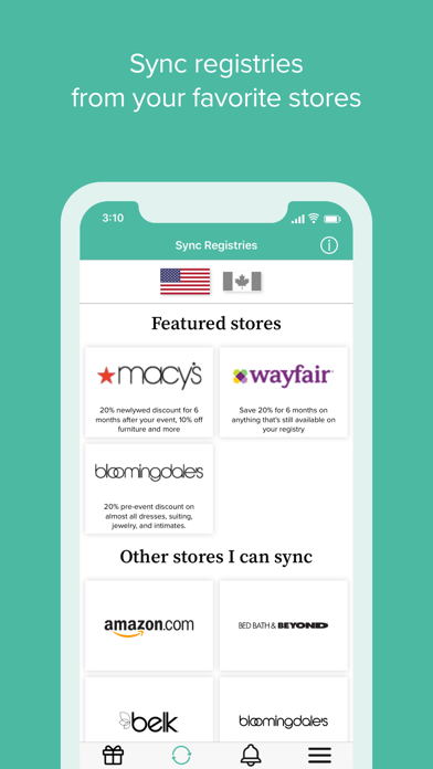 MyRegistry Universal Registry screenshot