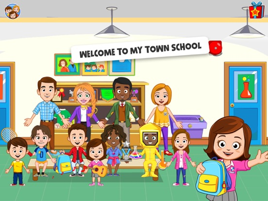 My Town : School Screenshots