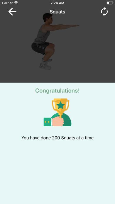 200 Squats Challenge screenshot 10