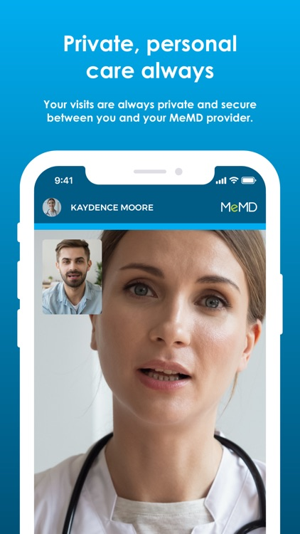 MeMD – Doctor's Visits Online! screenshot-5