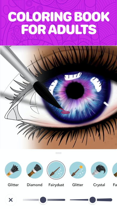 Screenshot #2 pour Color Therapy Coloriage Adulte