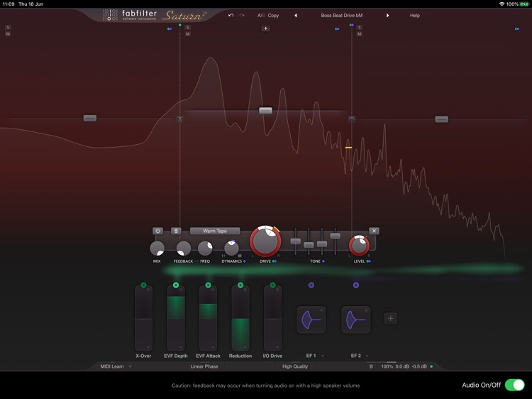 FabFilter Saturn 2 screenshot-2