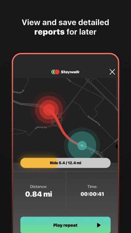 Staywalk — music for running screenshot-7