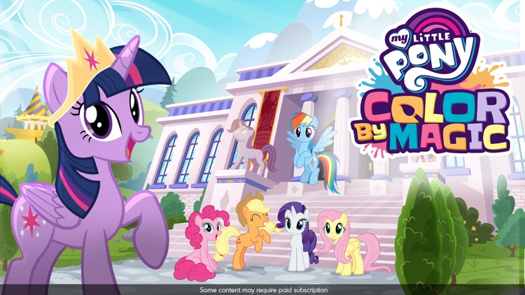 My Little Pony Color By Magic screenshot-9