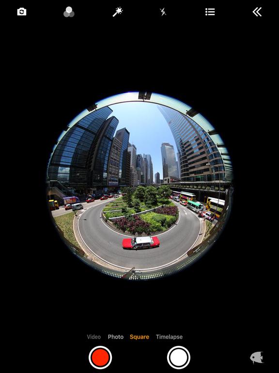 FishEyeVideo Square