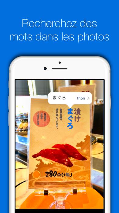 Screenshot #2 pour Nihongo Dictionnaire japonais