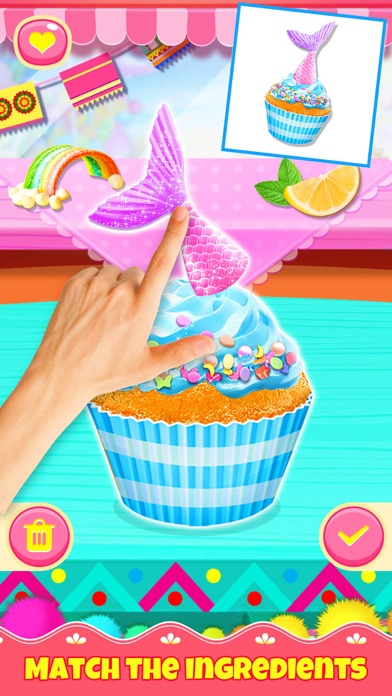Cupcake Games: Casual Cooking screenshot 2