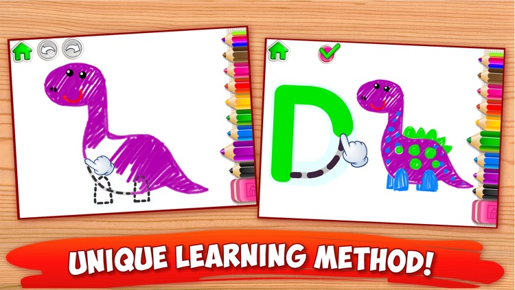 ABC Tracing Kids Drawing Games