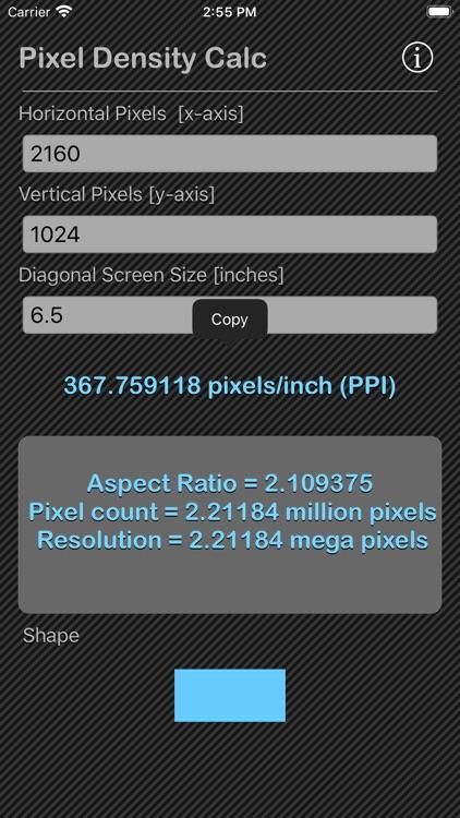 Pixel Density Calc screenshot-6
