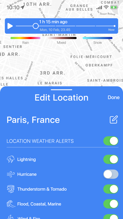 Weather Radar Live Screenshot