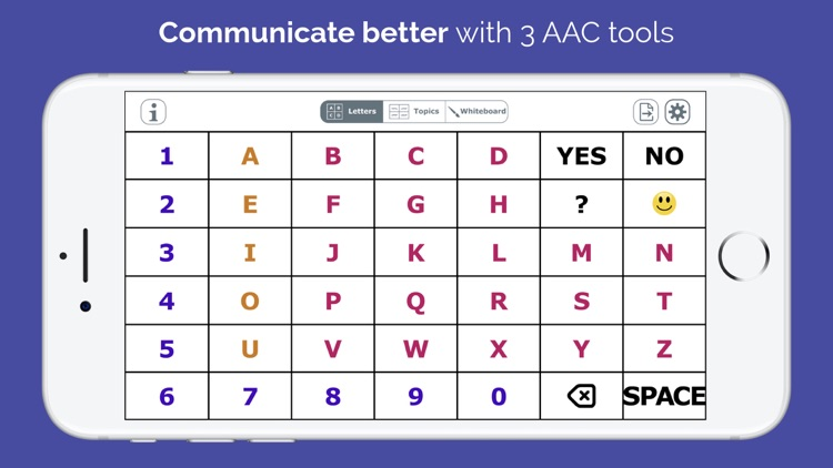 AlphaTopics - AAC screenshot-0