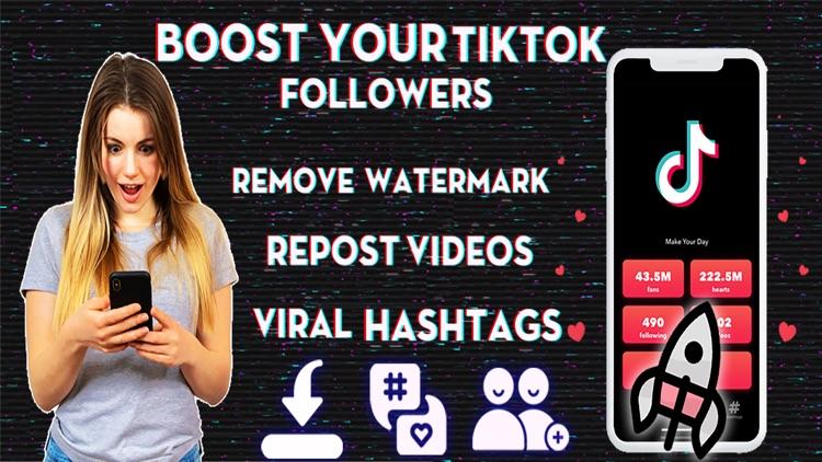 Followers & Repost for TikTok