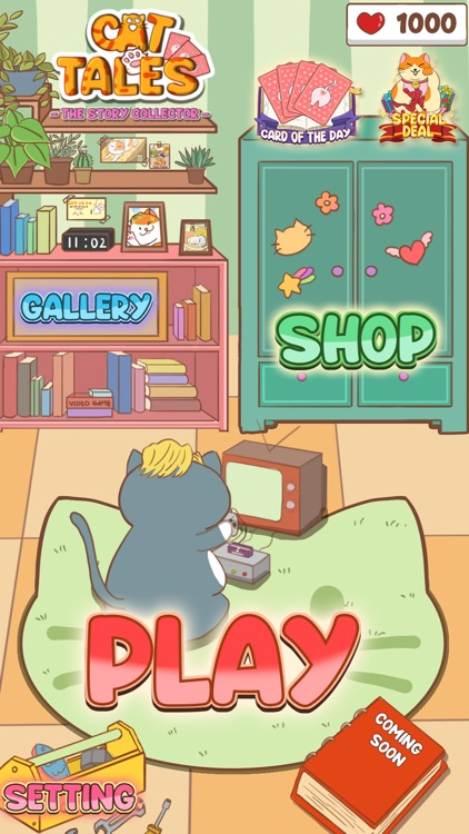 Cat Tales-The Story Collector