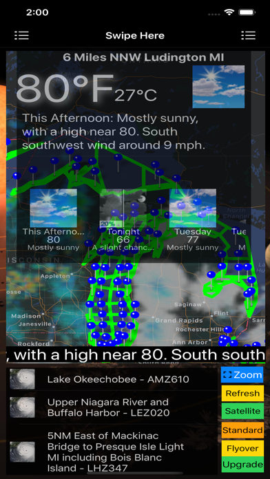 Instant Marine Forecast Lite screenshot 10