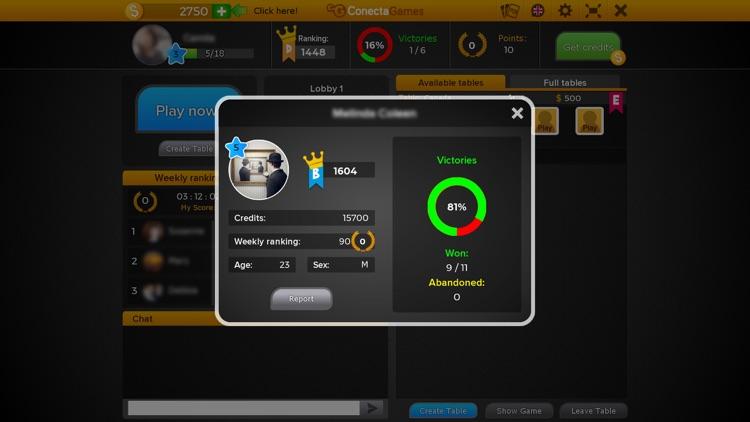 Sueca Multiplayer Game screenshot-5