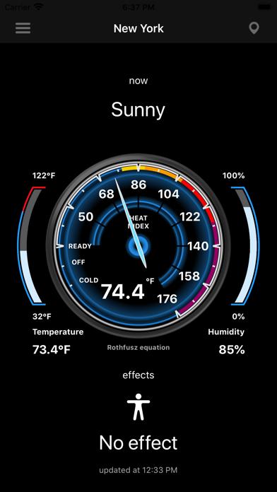 Heat Index - HI screenshot 1