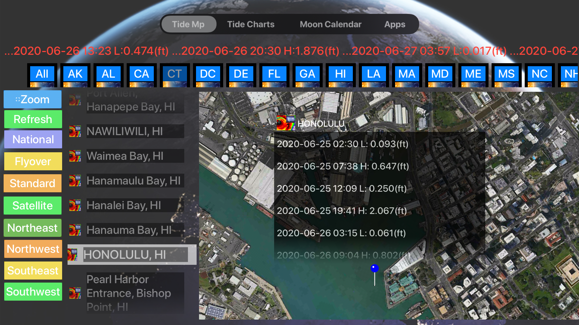Instant NOAA Tide Pro screenshot 16