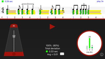 Screenshot #2 pour Rhythm Sight Reading Trainer