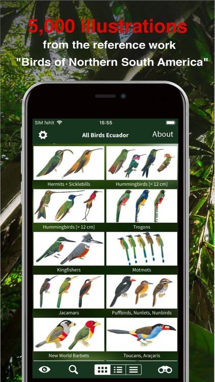All Birds Ecuador field guide screenshot-9