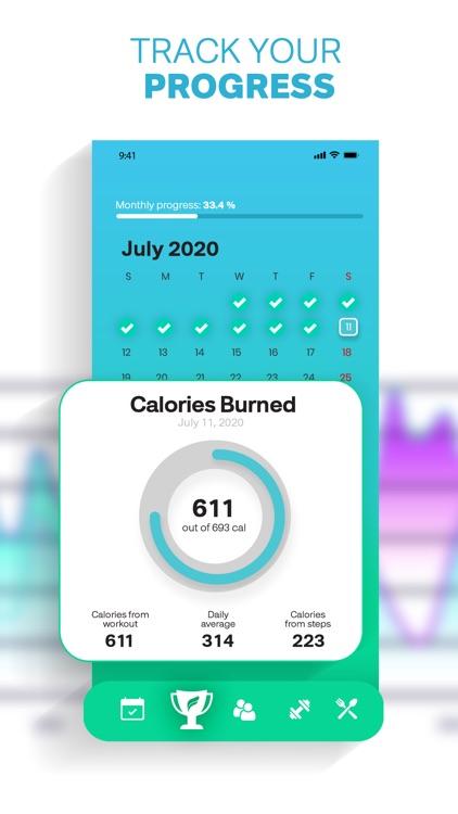 Fitonomy:  At-Home Workouts screenshot-4