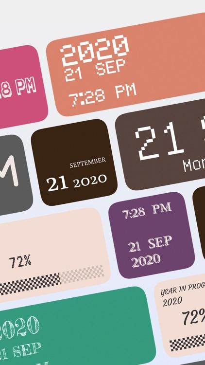 Pixel Widgets screenshot-1