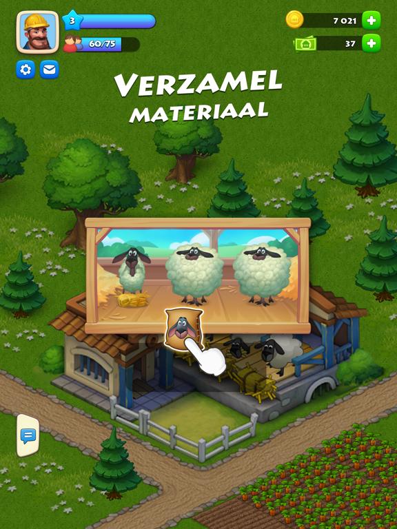 Township iPad app afbeelding 2