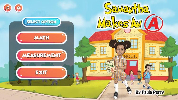 Samantha Makes An A